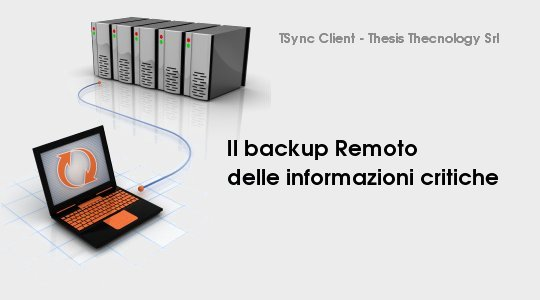Remote Backup &#8211; Salvaguardia dei Dati Viene Proposta una soluzione denominata Remote Backup, per le organizzazioni che non necessitano di un alto grado di complessit nella gestione della salvaguardia dei...